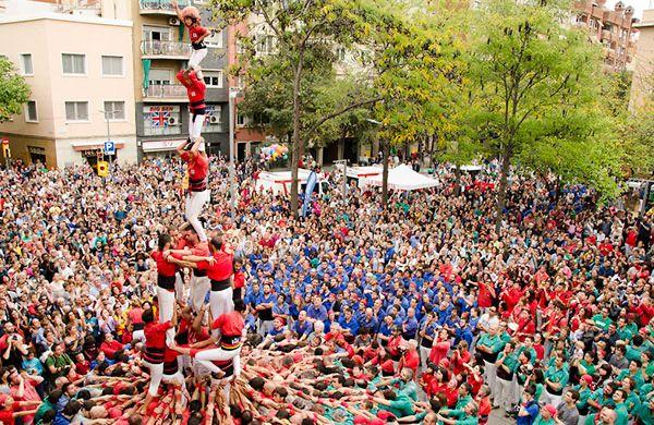 Castellers. Grups i artistes del folklore català